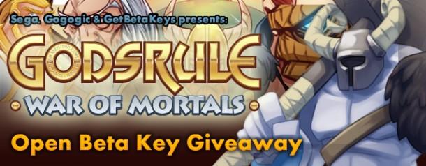Godsrule open beta key giveaway