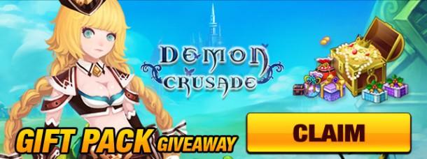 Demon Crusade Giveaway