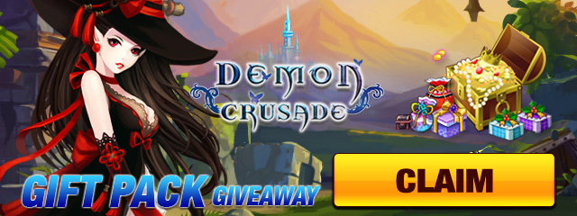 Demon Crusade Almighty Pack Giveaway