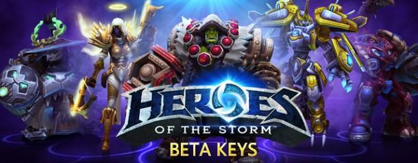 Heroes of the Storm Beta Keys
