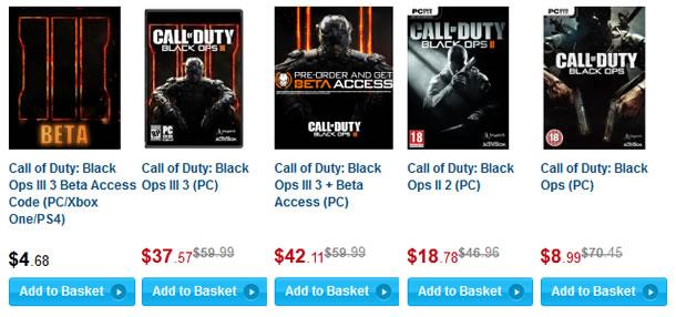 Buy Black Ops III on Cdkeys