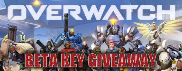 Overwatch Beta Key Giveaway