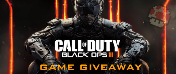 Call of Duty: Black Ops 3 game giveaway