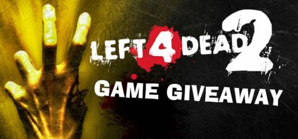 Left 4 Dead 2 Game Giveaway