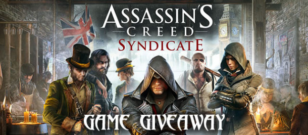 Assassins Creed Syndicate game giveaway