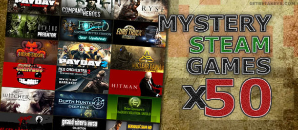 Christmas giveway: 50x Steam Games