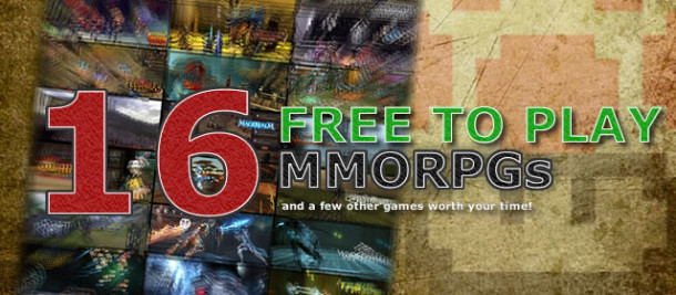 Free to play (F2P) MMORPGs