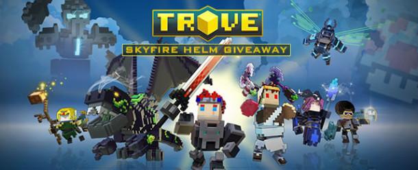 Trove Skyfire Helm Giveaway