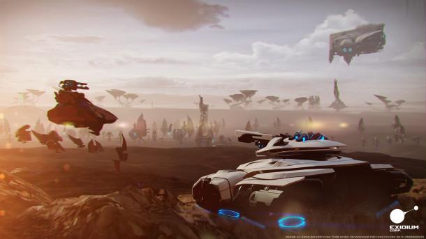 Exidium Corp The Last Frontier screenshot 01