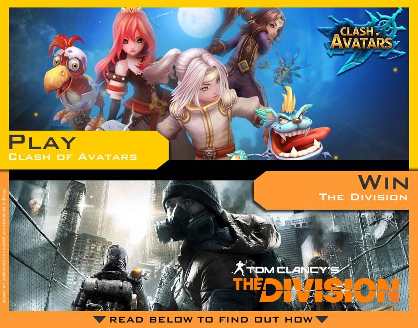 Clash of Avatars & The Division Contest