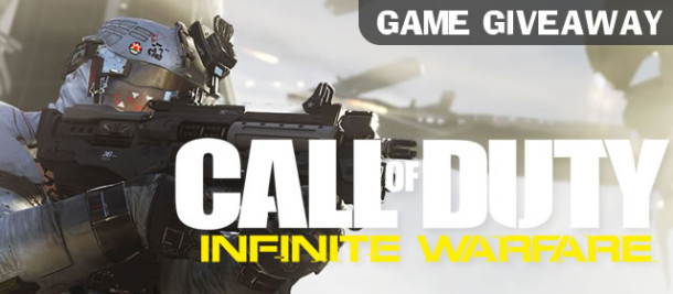 Infinite Warfare Game Giveaway