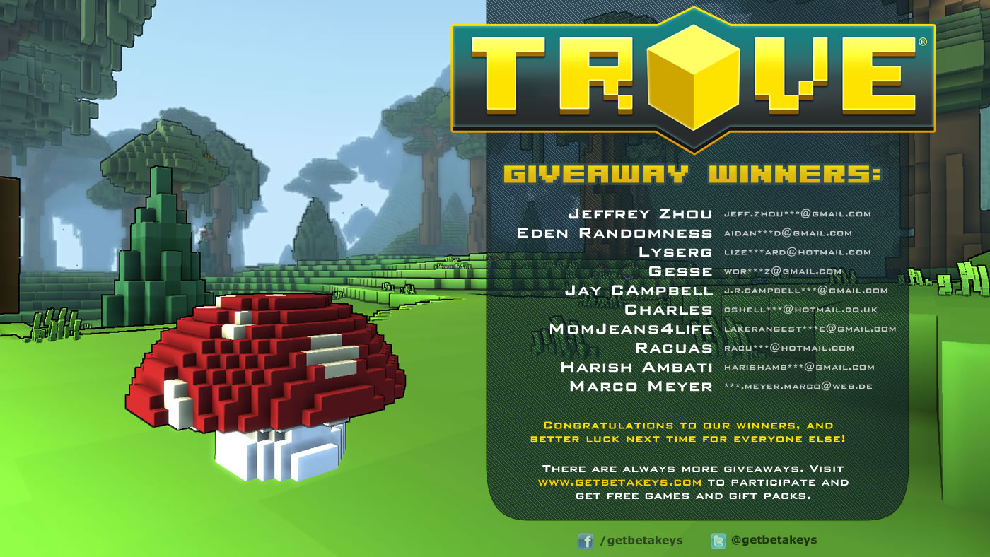 contests sweepstakes and coupons are all forms of trove skyfire helm giveaway get beta keys 8966